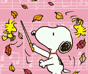 snoopy and music image