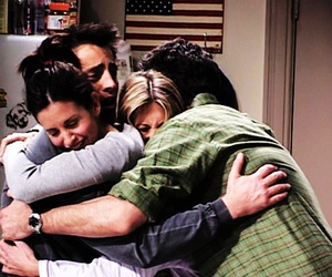 friends, hug, and f.r.i.e.n.d.s image