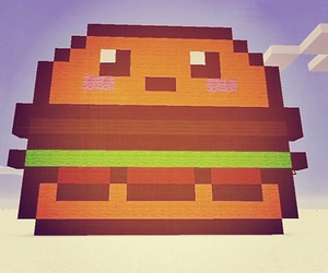 kawaii, lovely, and minecraft image