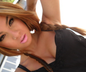 boobs, tattoo, and braid image