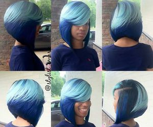 color, hairstyles, and weave image