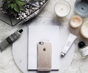 iphone, candle, and style image