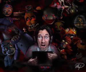 five night at freddy and markeplier image