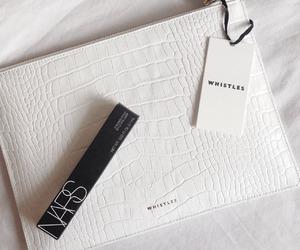 fashion, nars, and white image