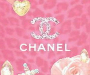 background, bows, and chanel image