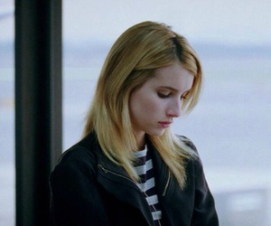 emma roberts and sad image