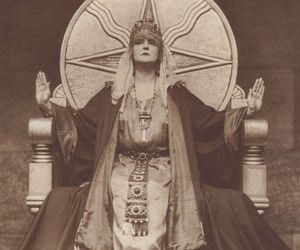 art, occult, and goth image