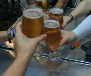 Barcelona, beer, and break image