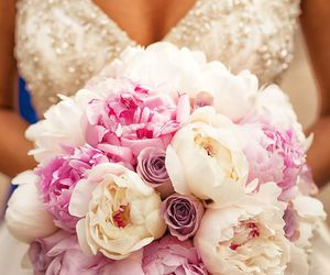 dress, flowers, and happygirl image