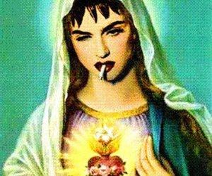 madonna and smoke image
