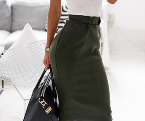 fashion, skirt, and classy image