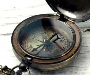 compass, pirate, and vintage image