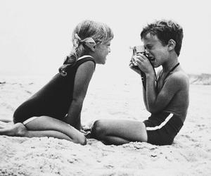 beach, bikini, and little image