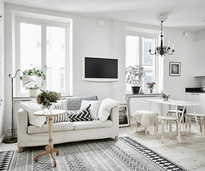 home and white image