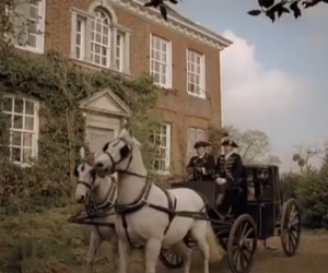 carriage, emma, and horses image