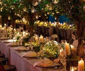 wedding, beautiful, and candles image