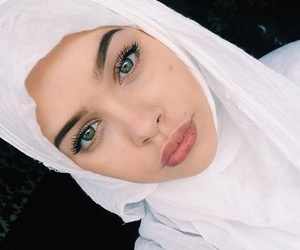 beauty, eyes, and muslim image