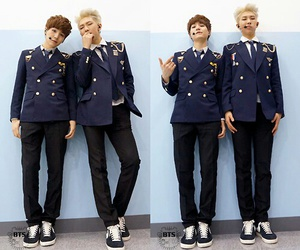 bts, rap monster, and suga image