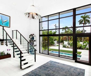 contemporary, dream home, and dream house image