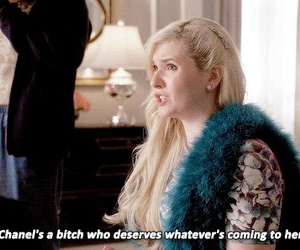 chanel, quotes, and scream queens image