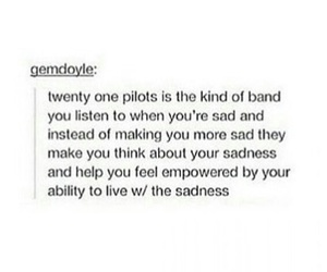 band, music, and twenty one pilots image