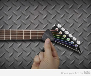 Pink Floyd, guitar, and music image
