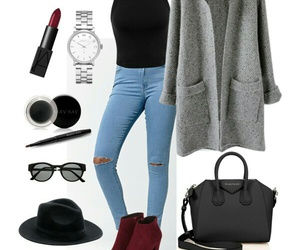 autumn, black, and style image