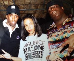 aaliyah and biggie image