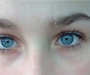 eyes, pale, and blue image