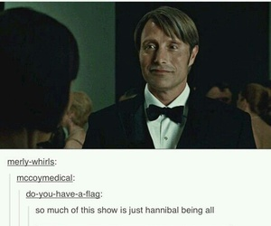funny, hannibal, and hannibal lecter image