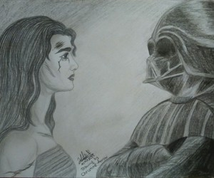 Anakin Skywalker, beautiful, and couple image