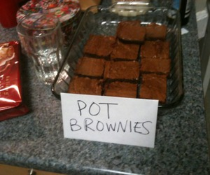 brownies and pot image