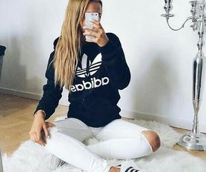 adidas, fashion, and girl image