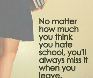 school, quotes, and miss image