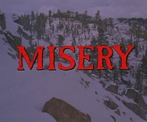 misery, movie, and Stephen King image