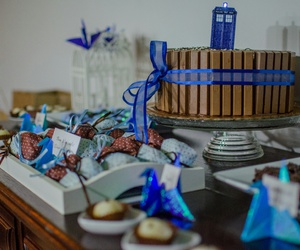 cake, candy, and doctor who image