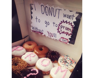 donuts, Prom, and food image