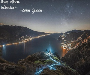 john green, night, and quotes image