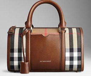 Burberry and bag image