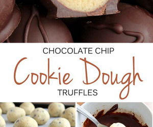 chocolate, cookie dough, and cookie image