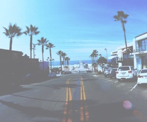 summer, beach, and city image