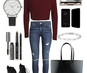 fashion, handbag, and watch image