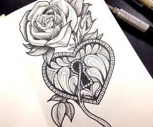 drawing and tattoo image