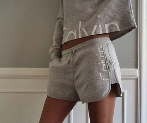 Calvin Klein, outfit, and grey image