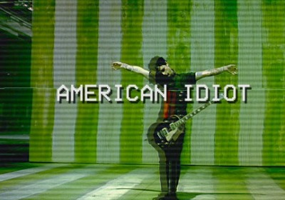 bands, greenday, and american idiot image