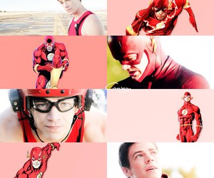 fandom, grant gustin, and pink image