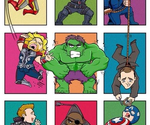 Marvel, thor, and Avengers image
