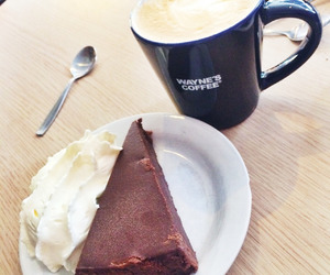 blog, chocolate, and coffe image