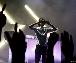 concert, french, and madeon image