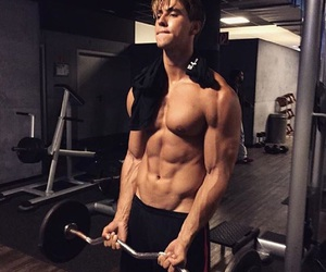 abs, famous, and Man Crush image